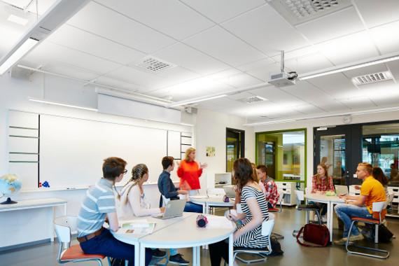 Класс муниципальной школы Tågaborg, Хельсингборг, Швеция