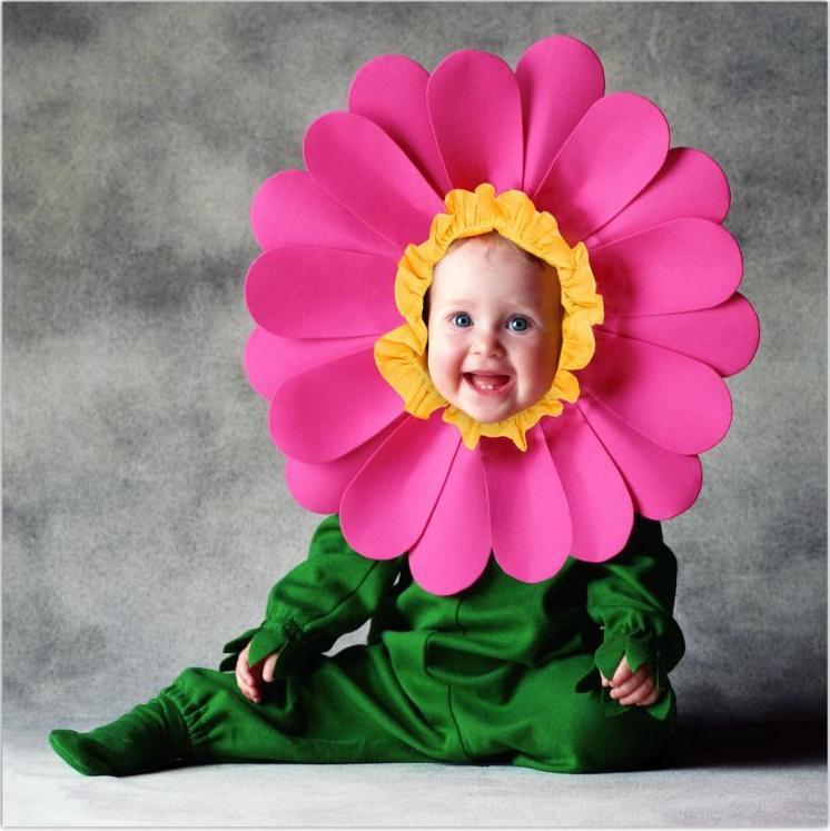 Костюм цветка
