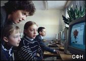 Во многих школах России только один ПК
