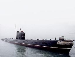 Подлодка проекта 641. Фото с сайта submarine.id.ru