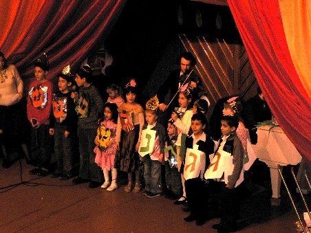 В Москве проведен праздник Хануки для детей