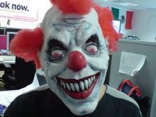 Британские дети панически боятся клоунов