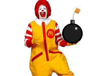 McDonald's обвинил видеоигры в детском ожирении