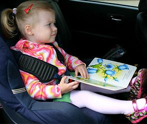 Ремень безопасности необходим при перевозке детей