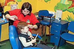 В Екатеринбурге парикмахерские оборудует для удобства детей