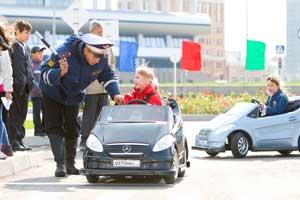Автогородок для юных водителей
