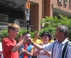 """Огонь спортивных игр """"Дети Азии"""" добрался до Владивостока"""