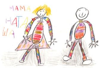 Дети Красноярска рисуют свои права
