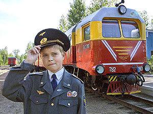 Настоящая железная дорога для детей