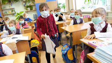 На массовые мероприятия будут допускаться только здоровые дети в масках