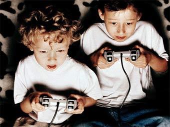 Некоторые дети в США зависимы от видеоигр