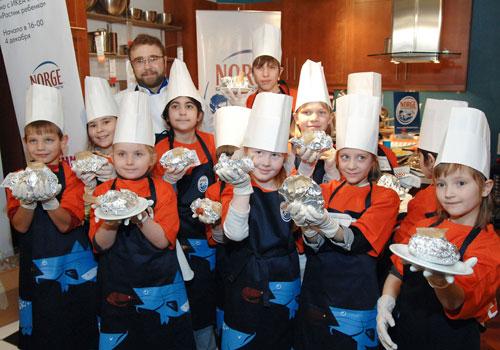 В Германии открыты кулинарные курсы для детей.