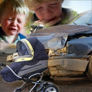 Отмечается увеличение случаев гибели детей в ДТП