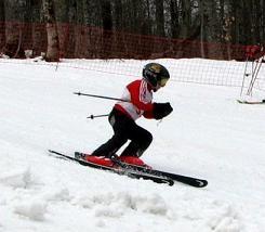 В Краснодарском крае прошли горнолыжные соревнования среди детей
