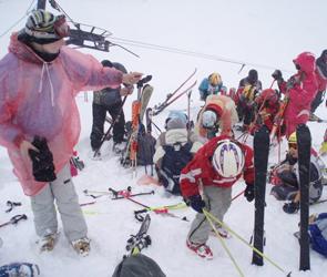 На Домбае прошли детские горнолыжные соревнования