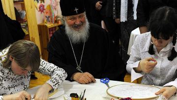 Патриарх Кирилл порекомендовал детям больше читать