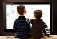 Современные дети очень много смотрят ТВ