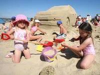 Детский пляж в Турции
