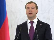 Медведев уделил детям особое внимание в послании Федеральному Собранию