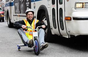 Детские велосипеды быстрее рейсовых автобусов?