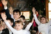 """Учащиеся новороссийской школы приняли участие в """"Олимпийской зарядке"""""""