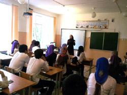 Единороссы приняли участие в торжественном мероприятии в школе-интернат