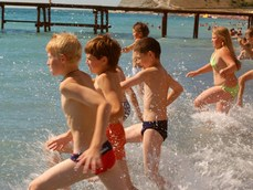 Делегация детей из Хабаровского края отправляется на отдых в Крым