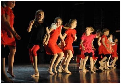 В Санкт-Петербурге прошел фестиваль современного танца для детей Dance4kids