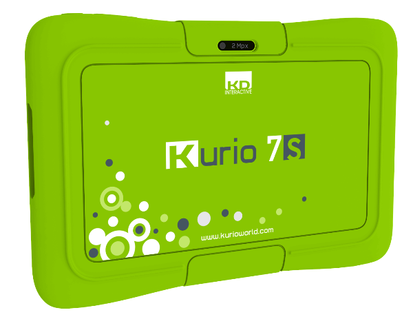 Kurio 7S оснащен защитным силиконовым чехлом