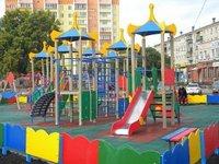 Детская площадка по безопасным стандартам в Копейске