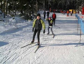 В Биробиджане прошел детский лыжный турнир