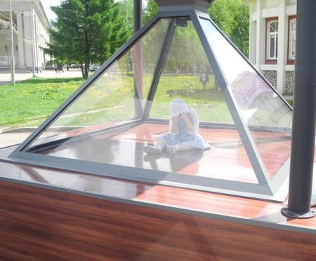 Памятник пропавшим детям открыли в Кирове