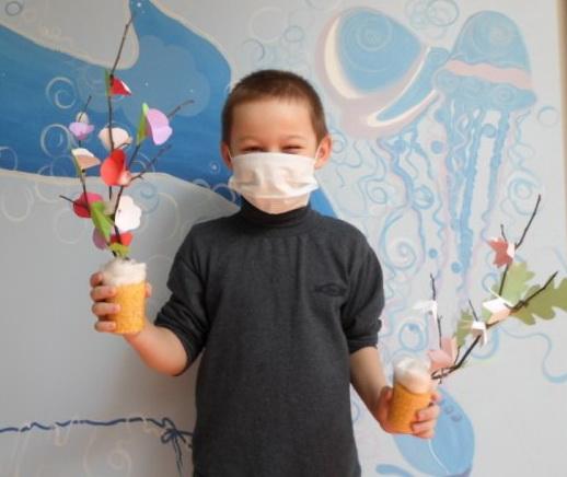 Волонтеры сделали праздник весны для онкодетей в Самаре