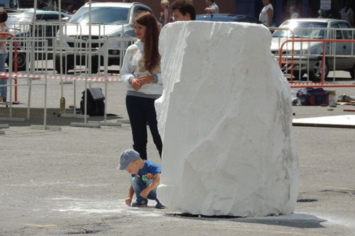 Детский фестиваль мела прошел в Белгороде