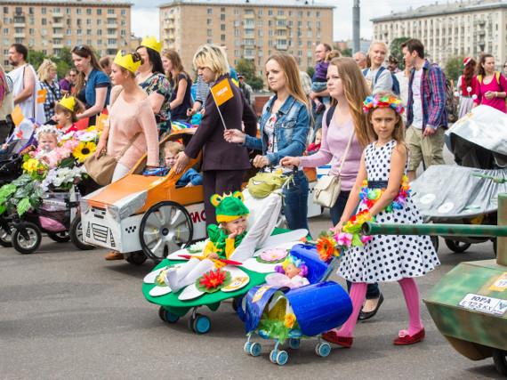 """Телеканал """"МАМА"""" приглашает на костюмированный """"Парад колясок"""" в Парк Горького"""