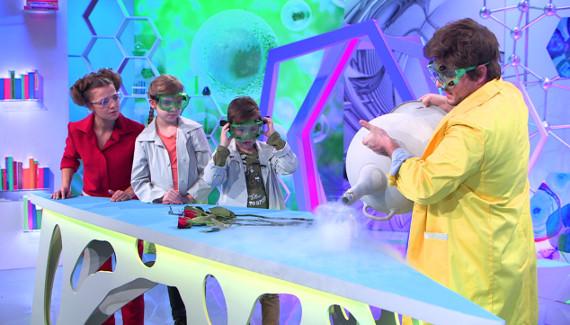 """Канал """"Карусель"""" объявляет о главной премьере весны – научном шоу """"Лабораториум"""""""