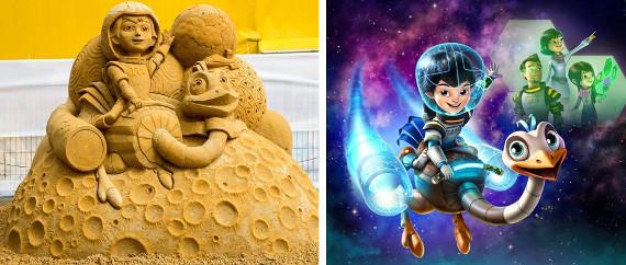 Волшебный мир песка - Майлз