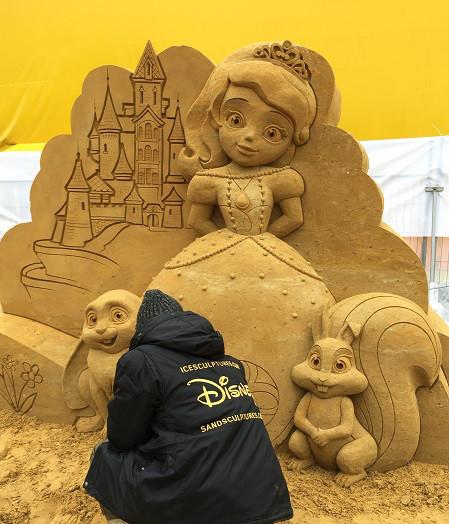 Волшебный мир песка - София прекрасная