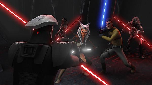 """Канал Disney покажет финал второго сезона проекта """"Звёздные Войны: Повстанцы"""""""