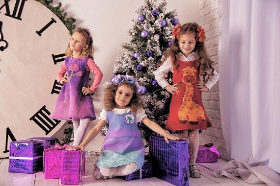 Детская одежда из нуновойлока от дизайнера Светланы Копневой