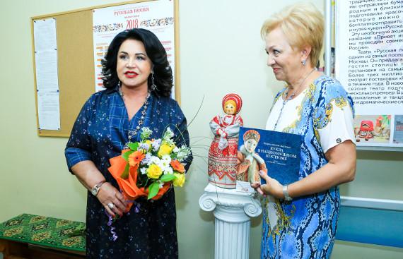 Кукла Наденька стала главным экспонатом Музея Кукол Надежды Бабкиной