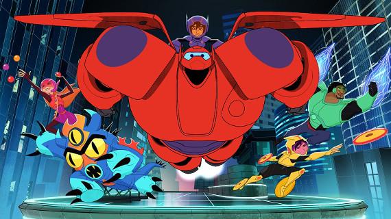 """Канал Disney запускает мультсериал о персонажах суперхита """"Город героев"""""""
