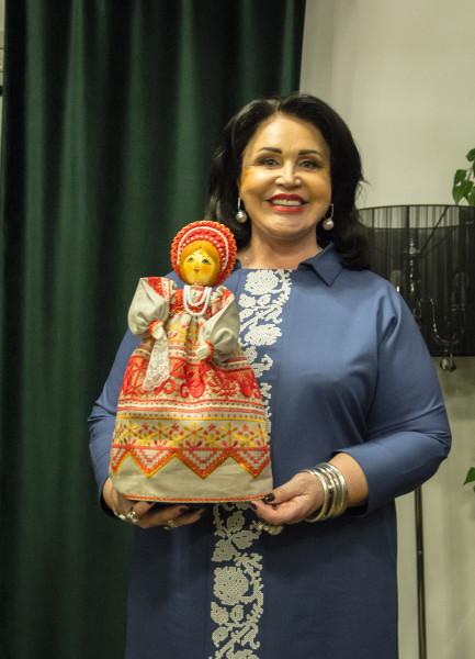 Надежда Бабкина открывает Музей кукол