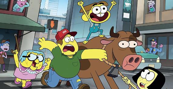 """Канал Disney покажет новый комедийный мультсериал """"Семейка Грин в городе"""""""