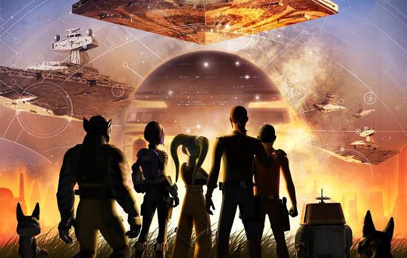 """Канал Disney покажет финал мультсериала """"Звёздные Войны: Повстанцы"""""""