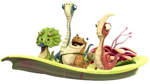 """""""Узнавайка"""" встречает новых героев - мультсериал о динозаврах"""