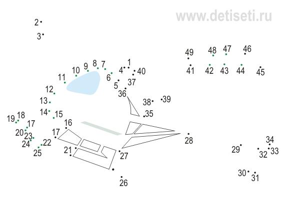 Вертолёт 2 (49 точек)