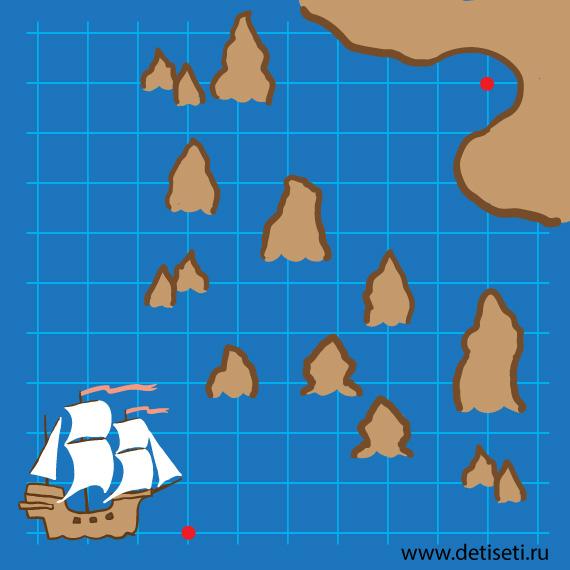 Проведи корабль в порт