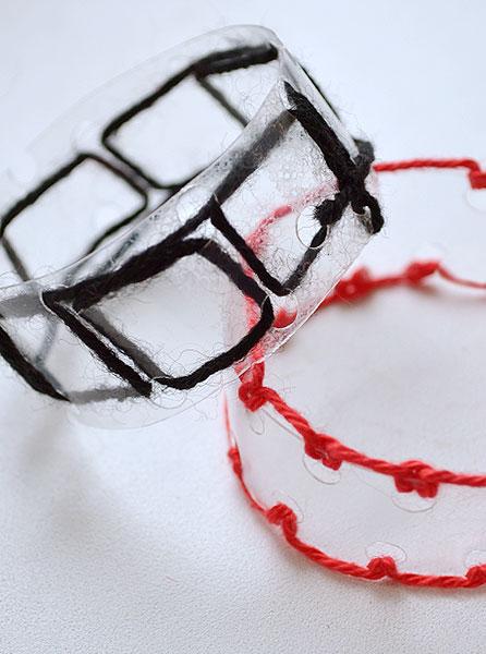 Разные варианты браслетов
