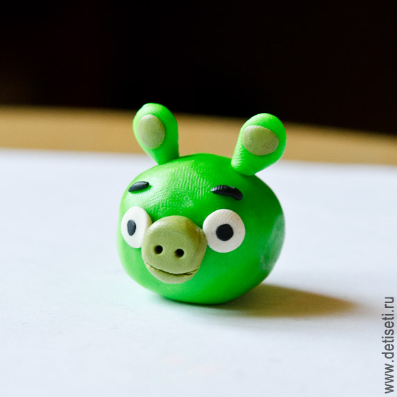 Angry Birds: Зелёная свинка